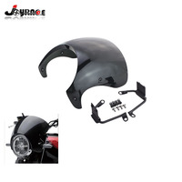 Motorcycle Windshield Cafe Racer Fairing Wind Shield Deflector Mounting Mount Kits For Kawasaki Z900 RS Z900RS 2017 2018
