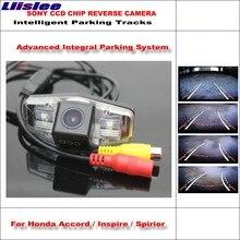 Liislee 860 Pixels Car Rear Back Camera For Honda Accord / Inspire Spirior Rearview Parking  Dynamic Reverse Tragectory