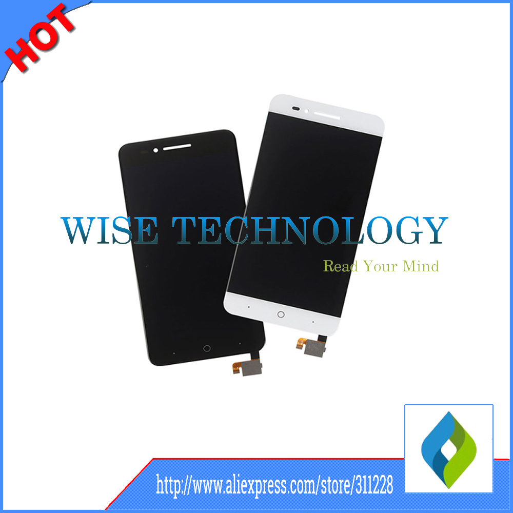 Подробнее о 100% Tested High Quality White/Black For ZTE Voyage 4 Blade A610 TD-LTE LCD Display + Touch Screen Digitizer Assembly Replacemen white black for zte blade a610 td lte lcd display touch screen digitizer assembly replacement free shipping