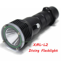 New For Diver Lamp 100M Underwater 3800LM XML L2 LED Scuba Diving Flashlight Torch Waterproof LED