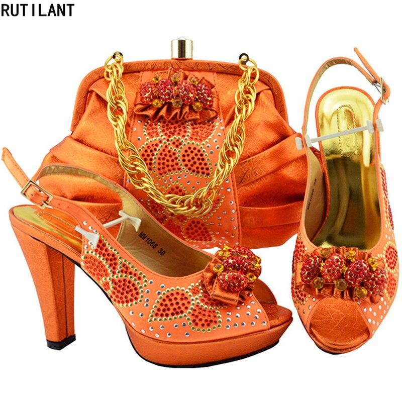Luxe Rouge Et Mode Nouveau Nigérian Sacs Marine Africaine Ensemble Mariage Ciel Chaussures pourpre 2018 orange Sac vin Pu bleu Italien Femmes jaune De w8qpgRfpx
