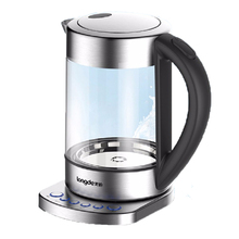 цены на 1800W Electric Kettle Auto Power-off Quick Heating Teapot Glass Household Multifunctional Electronic Insulation Kettle Boiler  в интернет-магазинах