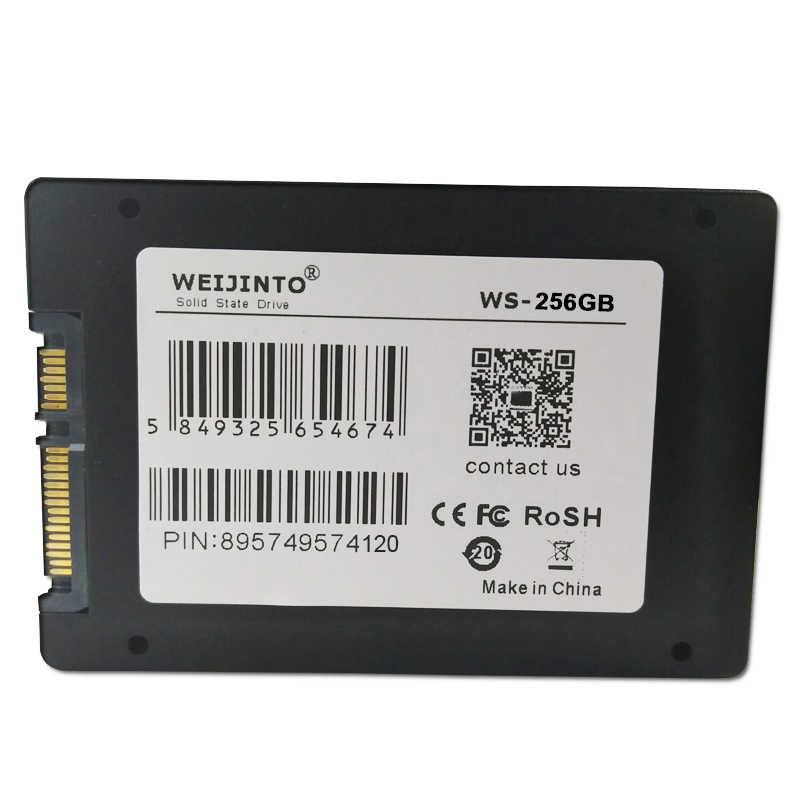 WEIJINTO SSD de 1TB 960GB 512GB 480GB 360GB 256GB 240GB 128GB 120GB Sata ordenador portátil de escritorio de estado sólido interno de 2,5 pulgadas SSD