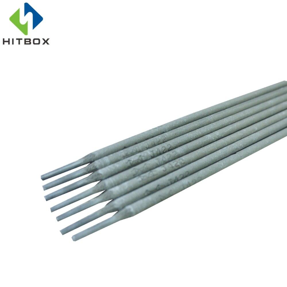 HITBOX 3.2mm Baguettes De Soudage 1 kg Pour Le Soudage MMA Électrode Électrique Revêtement Résistant À L'usure