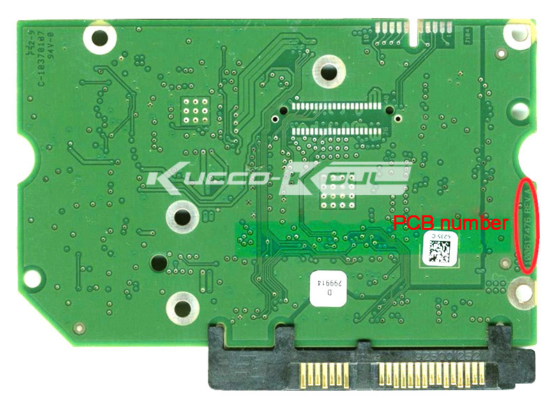 hard drive parts PCB logic board printed circuit board 100617476 for Seagate 3.5 SATA hdd data recovery hard drive repair