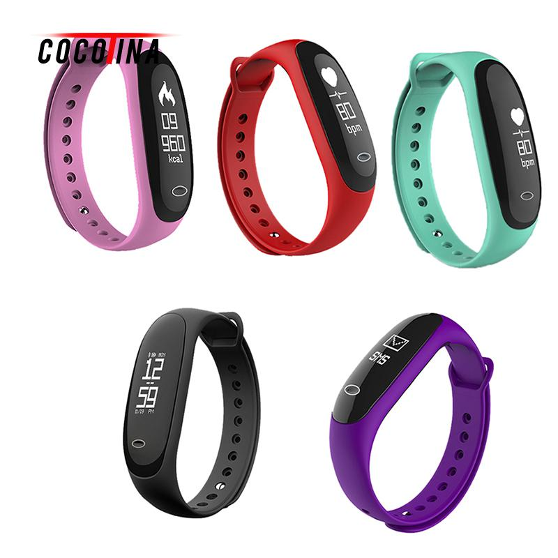 Smart Bracelet Heart Rate Monitor Reminder Wristband Wristband Bracelet Smart Heart Rate Monitor Fitness Tracker Touchpad OLED S ot01 2016 best selling new original nfc wristband bracelet with smart heart rate fitness touchpad oled