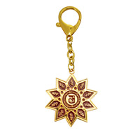 10 Hums with Magic Syllable Keychain Amulet Feng Shui W3194