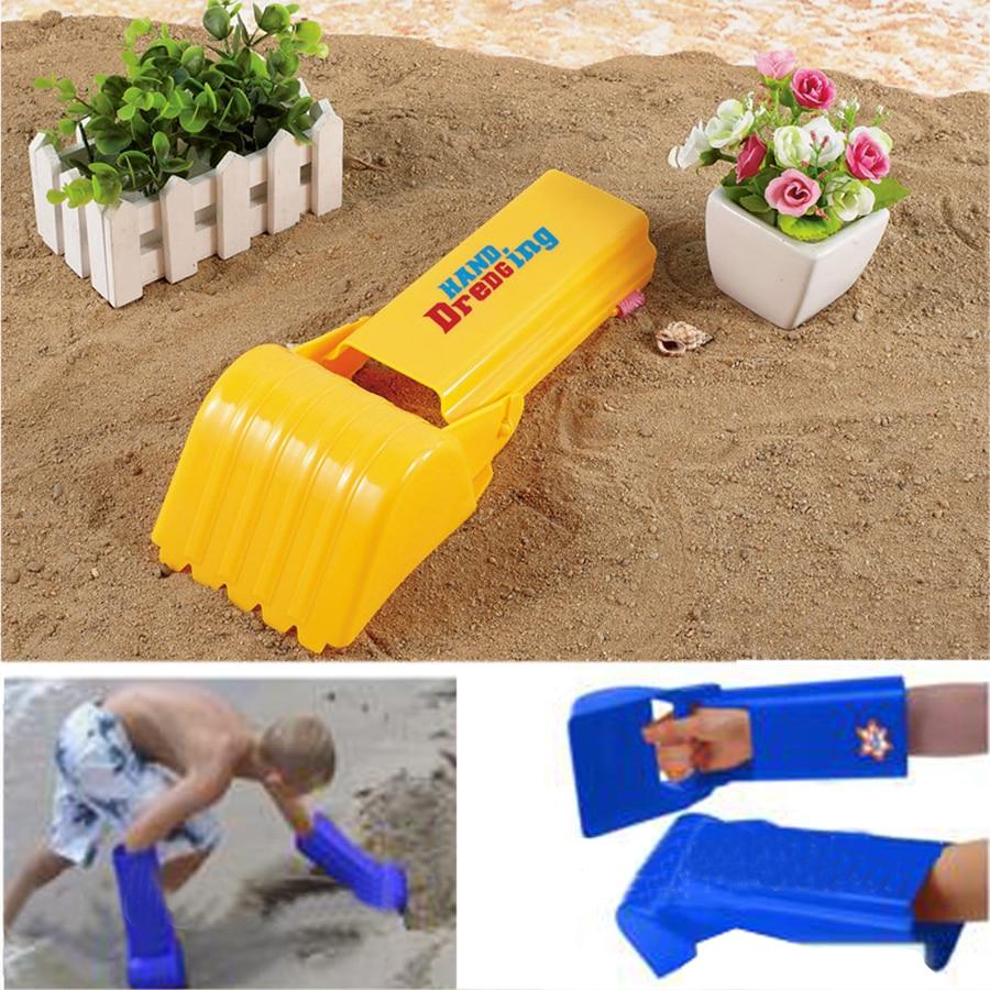 Toy Robot Hand Beach Toys For Kids Pala De Playa Kids Seaside Excavating Tools Snow Sand Play Children Boy Outdoor Toy Sandbeach