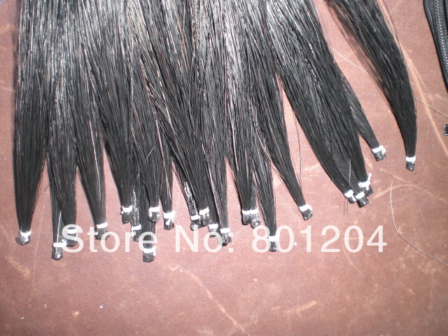 60 Hanks Stallion Violin Horse hair 7 grams each hank 32 inches in length 60 hanks stallion white bow hair including 30 hanks black