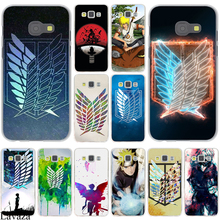 Naruto Attack on Titan Emblem Hard Case Cover for Galaxy