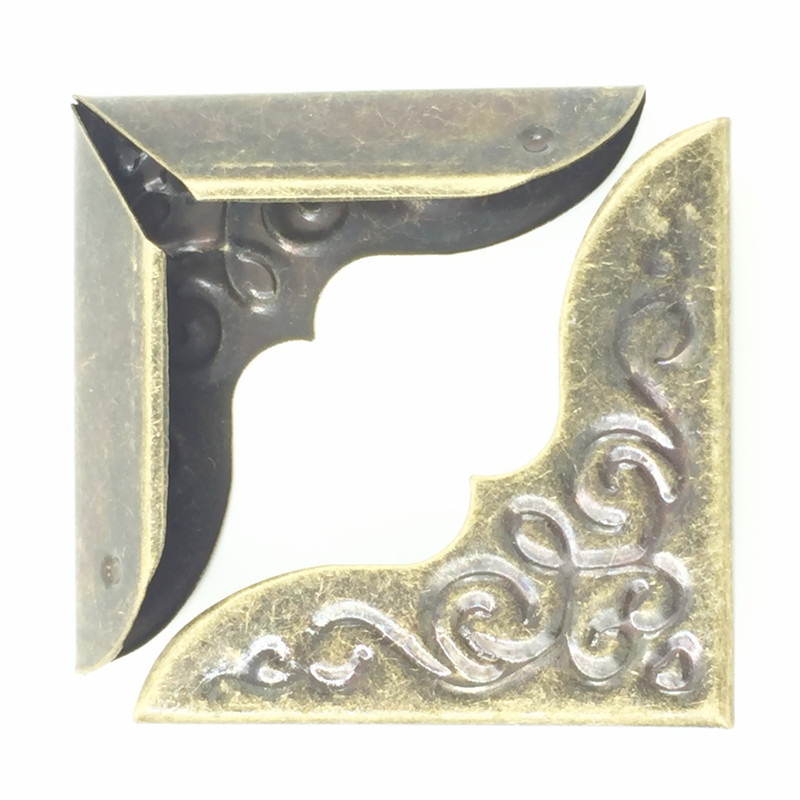 300Pcs Antique Bronze Tone DIY Book Menu