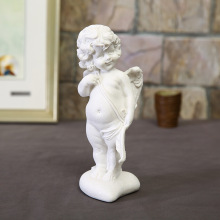 Home Decoration Creative European White Sand Angel Love Sandstone Fashion Desktop Resin Crafts Wedding DecoratiS