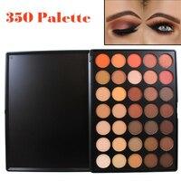 Professional 35 Color Eyeshadow Palette Trái Đất Màu Ấm Shimmer Matte Eye Shadow Beauty Trang Điểm Bộ 35O 35 T 35 K 35 P