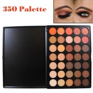 Professional 35 Color Eyeshadow Palette Earth Warm Color Shimmer Matte Eye Shadow Beauty Makeup Set 35O 35T 35K 35P