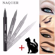 NAQIER Makeup Eye liner Black Natural liquid Eyeliner Pen Long-lasting Waterproof Stamps Tool Cosmetic