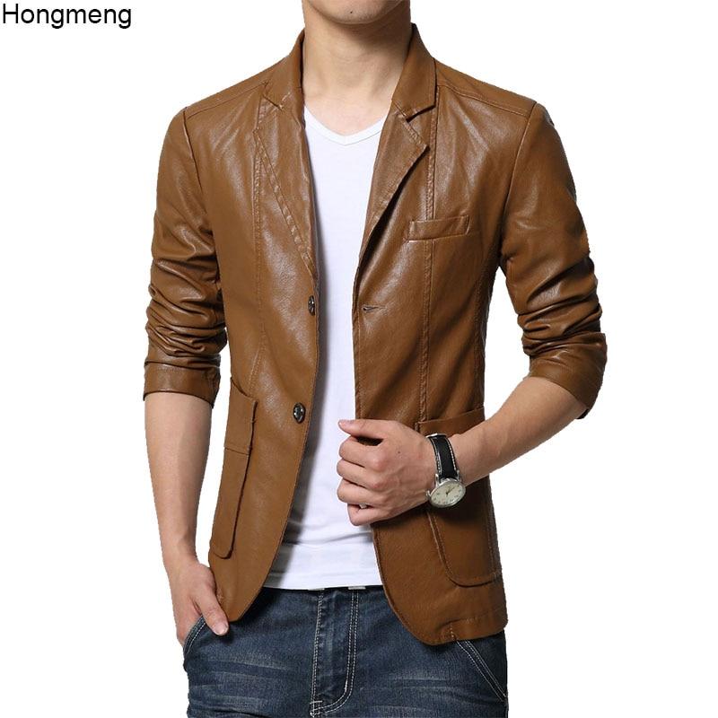 low priced deae6 41963 US $35.35 32% di SCONTO|Mens giacche di pelle e cappotti faux morbido  Dell'unità di elaborazione giacca di pelle scamosciata giubbino pelle uomo  ...