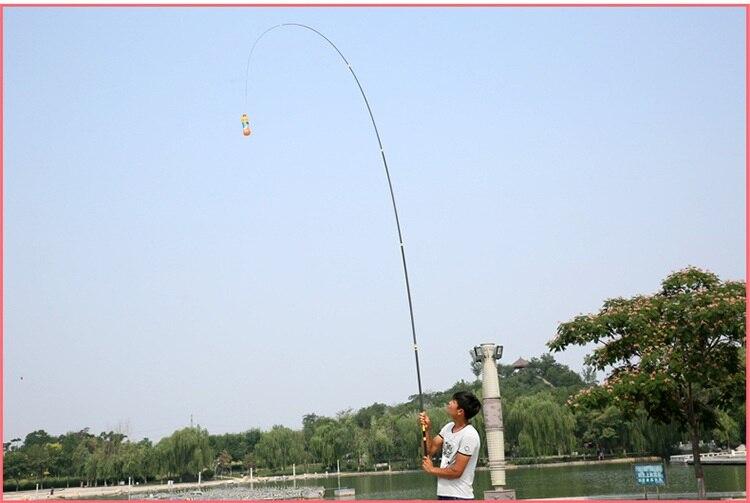 duro telescópica distância haste de pesca arremesso