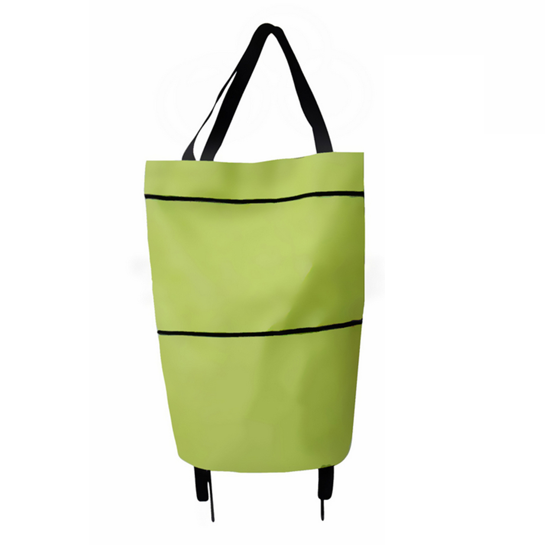 HIPSTEEN 1pcs Multifunctional Foldable Rolling Shopping Bags Tugboat Luggage Bag With Wheels Home Travel Household Accessories