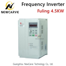 Fuling VFD 4.5kw 5.5kw Frequency Converter Inverter For 220v 380v Cnc Atc Spindle Motor Newcarve