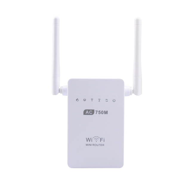 US $25 99 |AC750 Universal Wireless Dual Band Wifi Repeater Range Extender  Router Booster 750Mbps 2DB Antennas PIX LINK AC02 US Plug-in Wireless