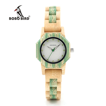 BOBO BIRD Brand Women Bamboo Watches Special Design Watch for Ladies Wood Band Female Quartz Watch relogio feminino