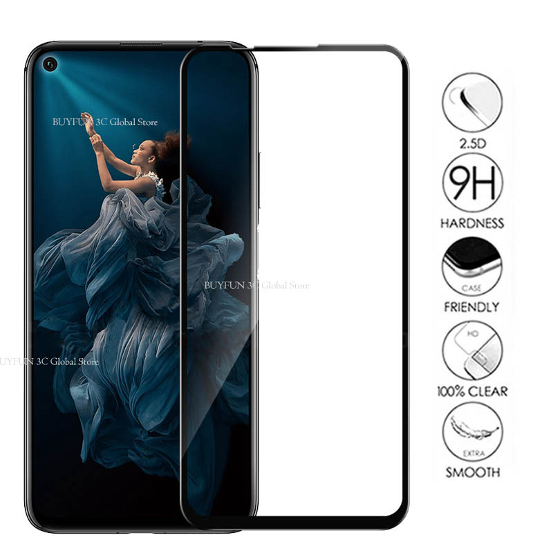 Image 3 - Protective Glass On Honor 20 Tempered Glass For Huawei Honor 20 Huaweii honor20 YAL L21 L41 Glas Screen Protector Film Cover 9H-in Phone Screen Protectors from Cellphones & Telecommunications