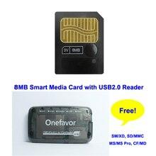 75cfe5c64660a Оптовая продажа 8 Мб карта памяти smartmedia SM карта памяти натуральная  смарт-медиа карта 8