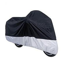 GOOFIT All Season Outdoor Waterproof Dustproof Motorcycle Cover,(XL) about 78.5inch Length A009-015-XL