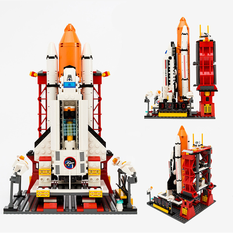 G Model Compatible with Lego G8815 679PCS Launch Center Models Building Kits Blocks Toys Hobby Hobbies For Boys Girls