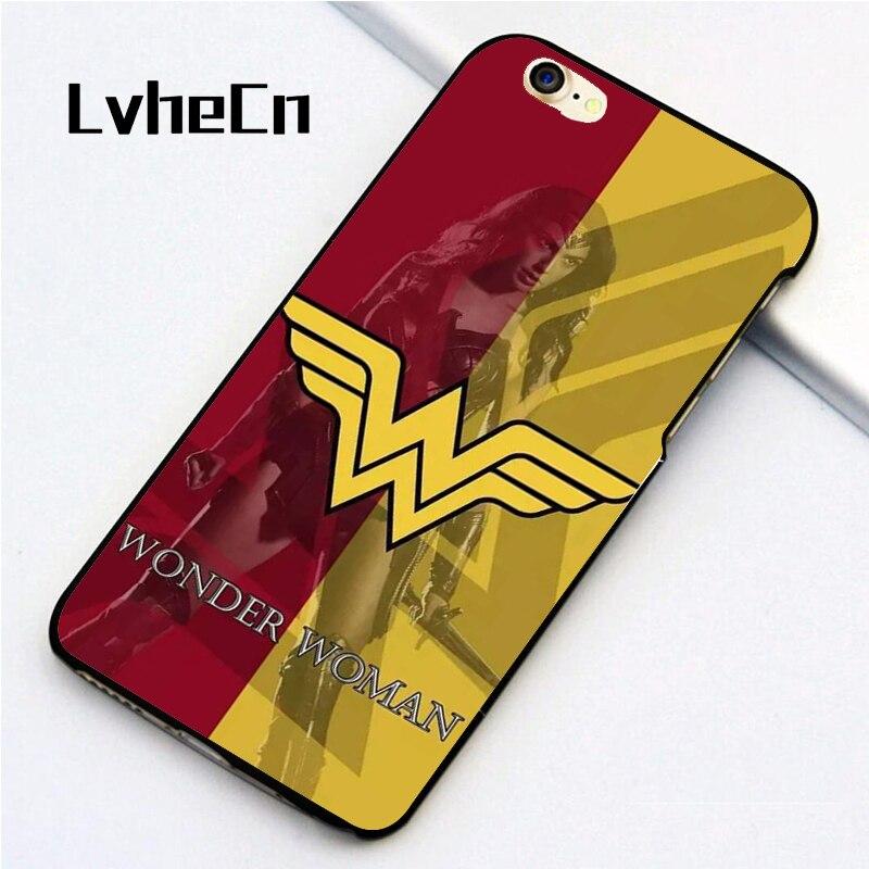 Lvhecn 5 5S SE чехол телефона Чехлы для iPhone 6 6 S 7 плюс 8 x кожу спины оболочки Холодный чудо Для женщин логотип