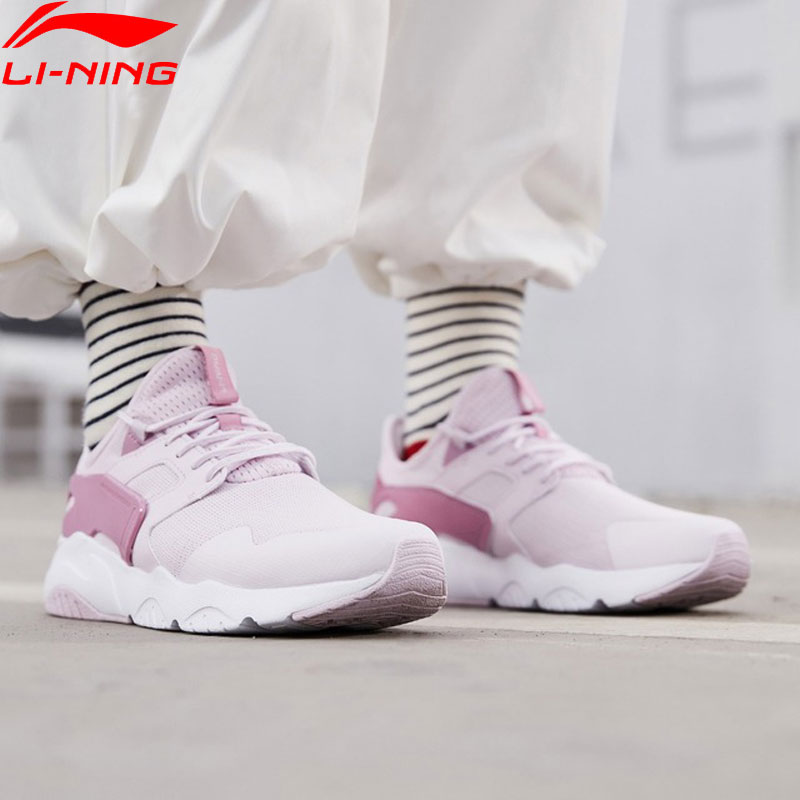 (Break Code)Li-Ning Women CARNIVAL Lifestyle Shoes Light LiNing Li Ning Breathable Sport Shoes Leisure Sneakers AGCP012 YXB272