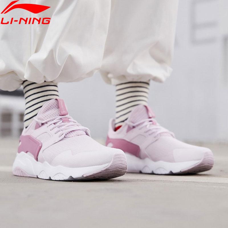 (Break Code)Li-Ning Women CARNIVAL Lifestyle Shoes Light LiNing Li Ning Breathable Sport Shoes Leisure Sneakers AGCP012 YXB272