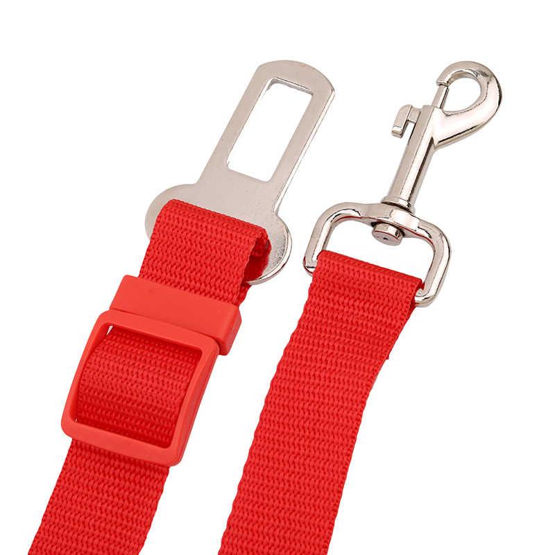 3 色猫/犬車の安全シートベルト犬ハーネス子犬子犬ハウンド車両シートベルトリードリーシュ犬のための