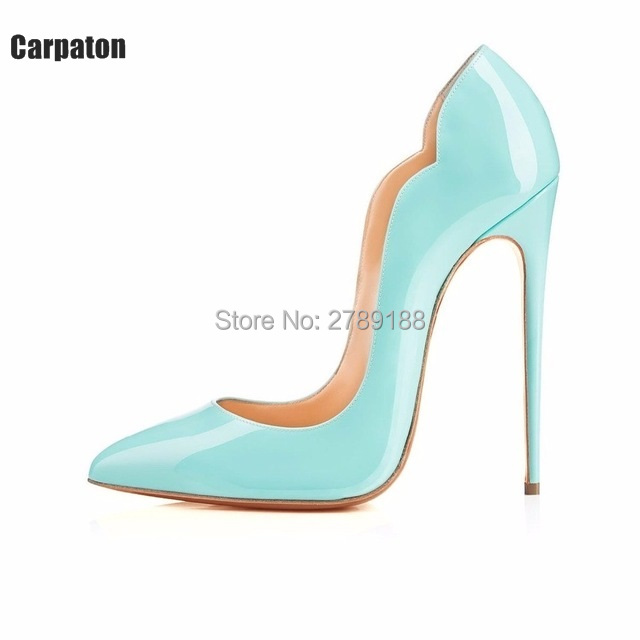 cocktail party lady sexy pumps gradient 12 cm stilettos top quality high heels patent leather shoes open toe high heels fashion садовая химия flower sweet