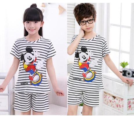 9b6424f9eb1e 3 14 Years Children Pajama sets Cartoon kids Pyjamas Boys Girls ...