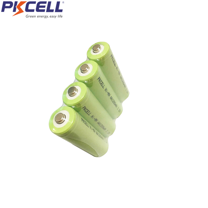 6Pcs <font><b>NIMH</b></font> <font><b>AA</b></font> <font><b>Batteries</b></font> <font><b>1200mah</b></font> <font><b>aa</b></font> <font><b>Rechargeable</b></font> <font><b>Battery</b></font> <font><b>nimh</b></font> <font><b>1.2V</b></font> Button Top non PCM industrial pvc packing image