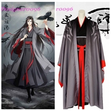 Chinese anime Wei Wu Xian Cosplay Costume Mo Dao Zu Shi Wei Ying's Magical Costumes Set Men's and Women's Clothes Halloween цена