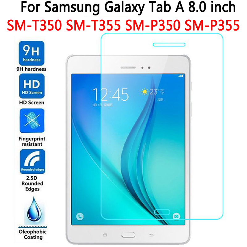 Tempered Glass for Samsung Galaxy Tab A 8 0 T350 T355 Screen Protector for Samsung Galaxy