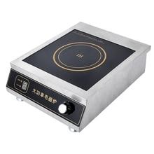 F-350D электромагнитная печь 3500 Вт электрическая индукционная плита электрическая жарочная печь для перемешивания бытовой из нержавеющей стали
