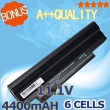Bateria do Portátil para Acer 11.1 V 4400 MAH Preto Aspire ONE 522 722 D255 D260 D270 E100 Aod255 Aod260 Al10a31 Al10b31 Al10g31