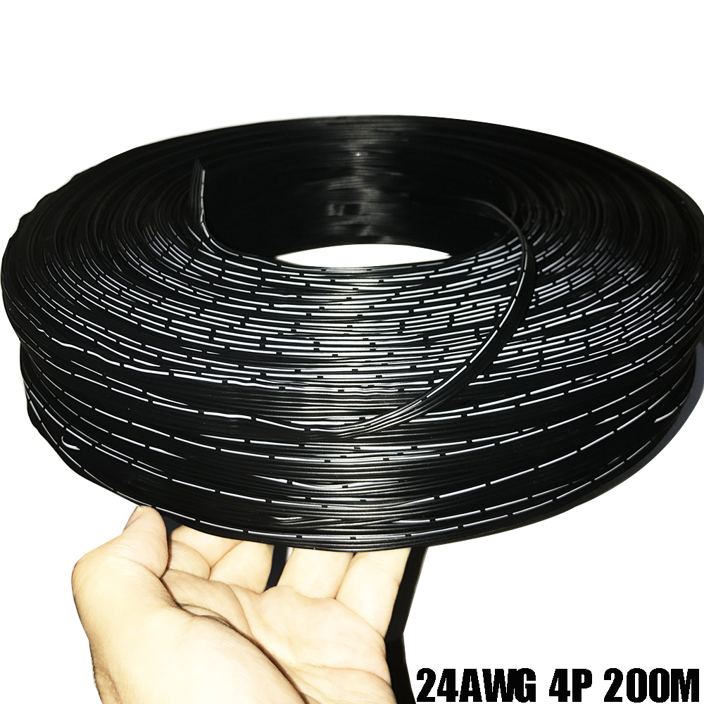 1M 24AWG Silicone Wire 4P 5P Power Cable Multi-core Cable High Temperature Parallel Wire 4 Core 5 Core Ultra-softTest Line