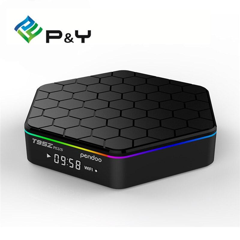 TV Box S912 Octa core cortex A53 17 0 Pendoo T95Z PLUS Android 6 0 2G