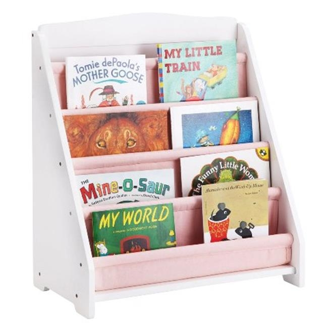 Guidecraft G87102 Expressions Book Display: White guidecraft expressions trophy rack natural