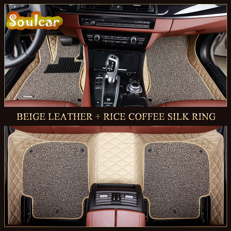 Custom fit Car floor mats for TOYOTA PRIUS REIZ Sienna Tundra VIOS 86 EZ 2008-2017 car floor foot carpet liners mats