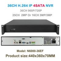 Full HD 36ch 960P 720P 16ch 5mp 4mp 3mp 25 Channel 1080p NVR 4xSATA HDMI ONVIF