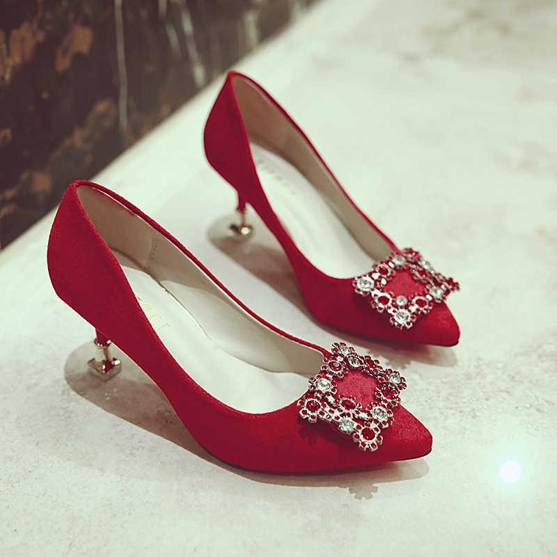 Europe and America high heels fashion