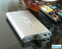 HIFI Headphone Amplifier Portable Ultra Class A (Class AA) OPA2604 plus LM4562 320Mw 16~300ohms Li Battery Ultra thin Body Audio