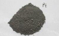 Pt 99,98% Платиновый металлический порошок в стеклянном флаконе чистый элемент 78 образец