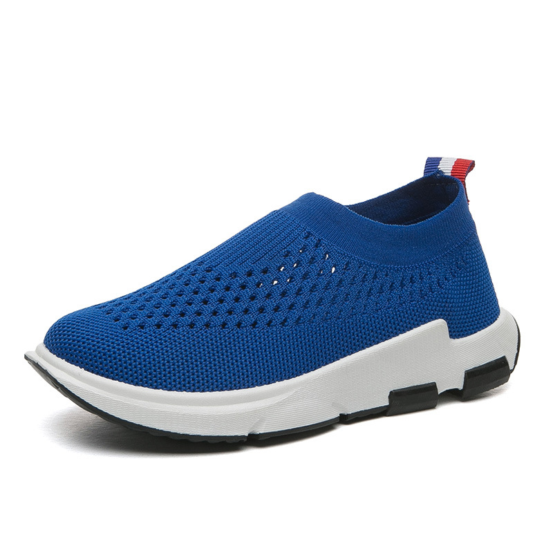 2019 Kids Sneakers Running Children Shoes Boys Girls Sport Shoes Girls Breathable Knit Socks Sneakers Outdoors Soft Casual Shoe in Sneakers from Mother Kids