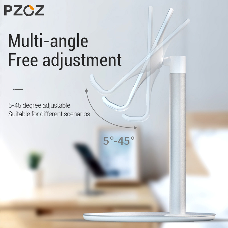 Image 2 - PZOZ Mobile Phone Holder Stand Cell Phone Tablet Universal Desk Holder For iphone X 8 7 Samsung desktop phone holder Accessories-in Phone Holders & Stands from Cellphones & Telecommunications